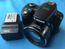 Canon PowerShot SX50 HS 12.1 MP Digital Camera - Black  ✔Ships Same Day For Free