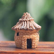 Micro Mini Bonsai fairy Cottage House Props Planter Potted Garden Home Decor