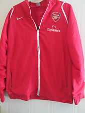 Arsenal 2008-2010 Home Football  Bench Jacket Size XXL /40089