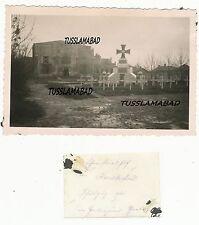 Ehrenfriedhof Karatscheu ? Russland Ort beschriftet Denkmal Gräber Foto