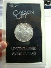 1884 Carson City Uncirculated Morgan Silver Dollar Coin (Excellent Condition)
