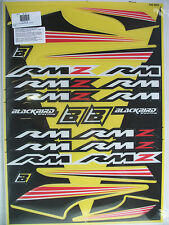 New Suzuki Decals Sticker Kit Rm Rmz Rm125 Rm250 Rmz250 Rmz450 Rm85 Rm100 Rm80