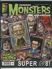September 2011 FAMOUS MONSTERS of FILMLAND MAGAZINE # 257 SPIELBERG ABRAMS LUCAS