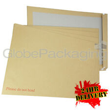 50 x C3 A3 BOARD BACK BACKED ENVELOPES 457x324mm PIP