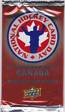 Pack of 5 2012 National Hockey Day in Canada cards - Gretzky,Orr,Nugent-Hopkins
