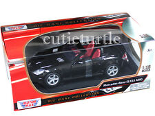 Motormax Mercedes Benz SLK 55 AMG with Retractable Roof 1:18 73162 Black