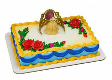 Beauty and the Beast Belle Tiara cake decoration Decoset cake topper set toy
