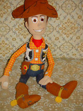 """Disney's Woody Soft Cloth Doll From Stroy Toy Movie Andy on Boot 21"""" Tall"""