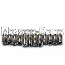 "4-40 x 1/4"" & 5/16"" Stainless Steel Saddle Height Screws For Fender Stratocaster"