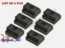 6PCS PACK T-SLOT NUT M10 THREAD & SLOT SIZE 12MM CLAMPING FOR TABLE SLOT MILLING
