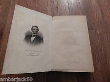 1866 THE LIFE OF ABRAHAM LINCOLN BY JG HOLLAND INTERNATIONAL SALE
