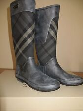 Burberry Clemence House Check Rain Boot Size 38 Eur MSRP $295