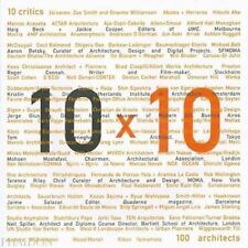 10 X 10 (Architecture) by Roger Conah, Phaidon Press Editors, Kristin Feireiss,