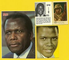 Sidney Poitier Fab Card Collection Academy Award for Best Actor