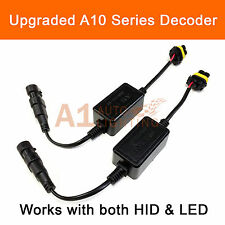 2x EMC 9005 Headlight Kit Canbus LED Decoder DRL HID Anti-Flicker Load Resistor