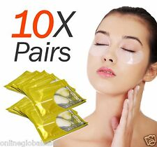10X Pairs Anti-Wrinkle Dark Circle, Collagen Under Eye Patches Pad Mask Bag Gel