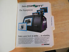 TOUCH MASTER INFINITY       ARCADE   GAME  FLYER