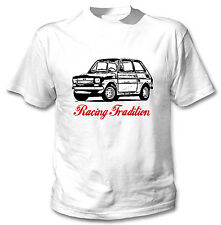 POLISH MALUCH RACING TRADITION 2P - WHITE COTTON TSHIRT