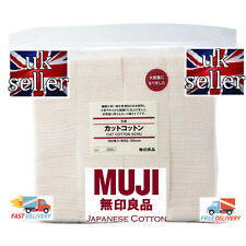 90 PADS MUJI JAPANESE ORGANIC COTTON  100% AUTHENTIC WICK RDA RBA RTA RDTA COIL
