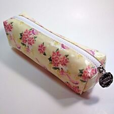 Heathcote & Ivory Vintage Collections Cosmetic Make-up Bag Floral Yellow London