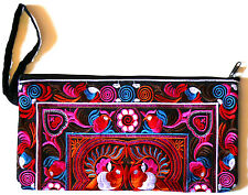 SAC A MAIN ETHNIQUE ETHNIC BAG BRODERIE FEMME TROUSSE A MAQUILLAGE POCHETTE