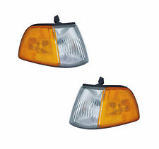 PAIR Corner Lights - Driver & Passenger Side - Fits 90-91 Honda Civic Hatchback