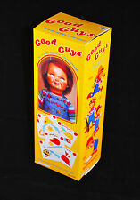 "Good Guy Doll Replica Miniature Halloween Prop Box 8.5"" Tall"