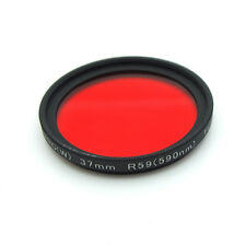 ROCOLAX 37mm R59 590nm IR Infrared Pro-HD Optical Filter for Camera Lens