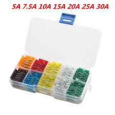 100 Lot Assorted Car Mini Low Profile Fuse Box 5 7.5 10 15 20 25 30 Amp Sales