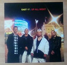 """EAST 17- Promotional 12"""" x 12"""" Card (Flat)  UP ALL NIGHT (ideal for framing)"""