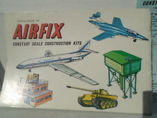 VINTAGE AIRFIX  1ST EDITION CATALOGUE WITH PRICE LIST,RARE ITEM