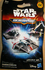 STAR WARS - MICROMACHINES BLIND BAGS - SERIES 2 - NEW AND SEALED - 12 TO COLLECT