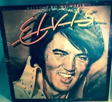"""Elvis Presley """"Welcome to my World"""" LP  RCA APL-12274 STEREO"""
