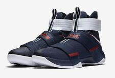Nike Zoom Lebron Soldier 10 X SFG USA Blue Red White (Size 10.5) 844374-416