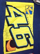 Wall tattoo Flag Of 46 Valentino Rossi The Doctor Sticker VR46 Printed Signature