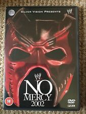 WWE - No Mercy 2002 (DVD, 2003) REGION 2 WWF RARE