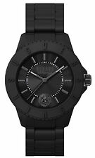 Versus By Versace Men's SOY010015 TOKYO Black Dial Black Silicone Wristwatch