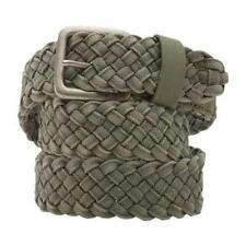 Vans Off The Wall Coolidge Mens Braided Web Belt Green One Size New NWT