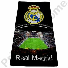 REAL MADRID CF 'STADIUM' BEACH BATH TOWEL NEW OFFICIAL FOOTBALL