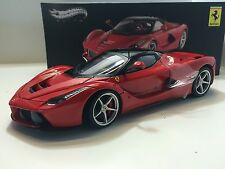 Hot Wheels Elite 1/18 Ferrari LaFerrari 2013 Red Art. BCT79