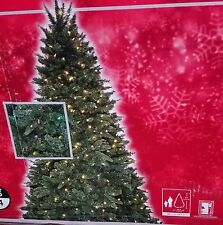 NEW 9FT PreLit Sierra Nevada Fir Christmas Tree LED Clear / Multi COLOR CHANGING