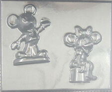 Large Mickey & Minnie Mouse Candy mold #219 - NEW