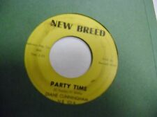 Diane Cunningham Someday Baby/Party Time 45 RPM New Breed Record VG