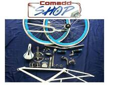 Kit bici bicicletta bike single speed  scatto fisso fixed gear uomo NUOVA