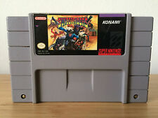 VINTAGE SNES Super Nintendo SUNSET RIDERS game cartridge TESTED WORKING NTSC