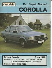 Autodata Toyota Corolla Car Workshop Service Repair Manual From 1972 (289)