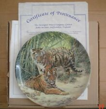 Davenport Collectors Plate TIGER CUBS From YOUNG SURVIVORS COLLECTION