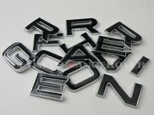 RANGE ROVER L322 VOGUE 3D CHROME BONNET BOOT BADGE LETTERS WORD LETTERING LOGO