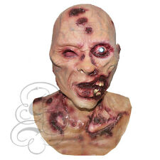 Halloween Latex Zombie Undead One Eye with Chest Horror Fancy Costume Party Mask