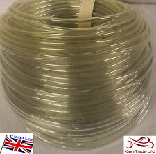 Engine Gas Fuel Oil Injection PU Line Tubing Tube Hose 6 x 8mm @ 5 Mtr CLEAR